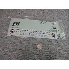 707-227 Braniff International Decals 1/144