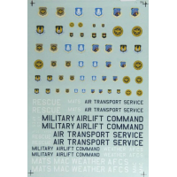 Air Force command insignia Decals 1/72