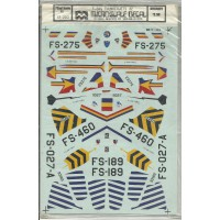 USAF F-84G Thunderjets Decals 1/72