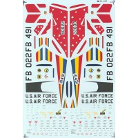F-101C Voodoos Decals 1/72