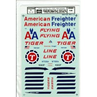 707-320C Freighters Decals 1/100