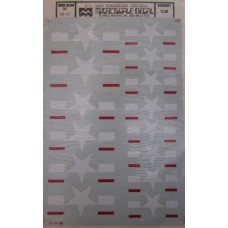 U.S. Borderless Insignia Decals 1/48