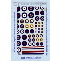 Great Britain WWII Roundels Decals 1/72