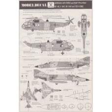 German Air Force and Navy (Post War):  Decals 1/72