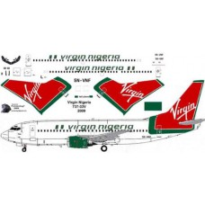 Virgin Nigeria 737-33V Decals 1/144