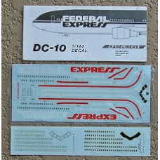 DC-10 Federal Express  Decals 1/144