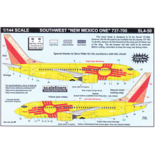Southwest 737-300 New Mexico One Decals 1/144