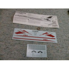 Boeing 727-100 PSA Decals 1/144