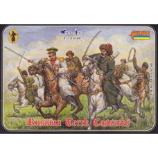 Crimean Russian Mounted Terek Cossacks 1/72