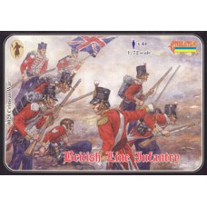 Crimean War British Line Infantry 1/72