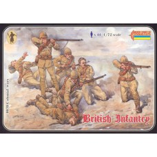 British Infantry 1/72