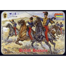 Crimean British Hussars 1/72