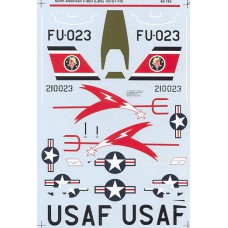 F-86D late 431 FIS Decals 1/48