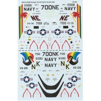 USN S-3A/B Vikings Decals 1/72