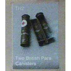 Two british para canisters 1/35