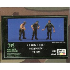 US Army ground crew 1/48