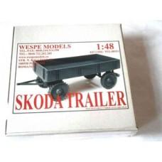 Skoda Trailer 1/48